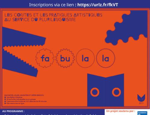 [Evènement] Le jeudi 20 mai, venez découvrir la mallette Fabulala !